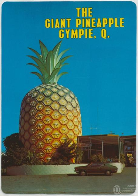 The Giant Pineapple retro